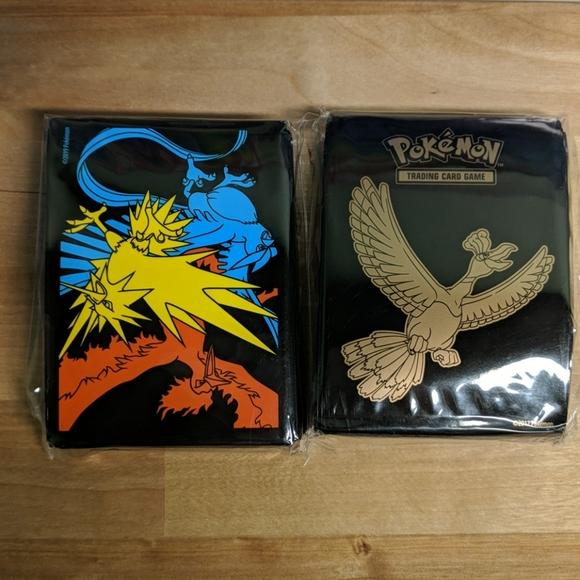 Pokemon card sleeves 2 brand new packs